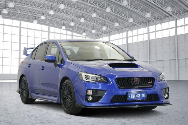 Used Subaru WRX V1 MY15 STI AWD, 2014 Subaru WRX V1 MY15 STI AWD Blue 6 Speed Manual Sedan