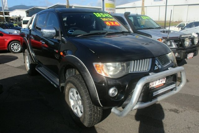 Used Mitsubishi Triton ML MY07 GLX-R Double Cab, 2007 Mitsubishi Triton ML MY07 GLX-R Double Cab Black 5 Speed Manual Utility