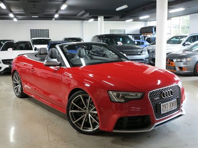 Used Audi RS5 8T MY14 S Tronic Quattro, 2013 Audi RS5 8T MY14 S Tronic Quattro Red 7 Speed Sports Automatic Dual Clutch Cabriolet