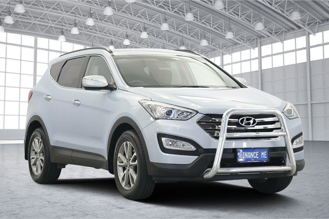 Used Hyundai Santa Fe DM MY13 Elite, 2013 Hyundai Santa Fe DM MY13 Elite Glacier 6 Speed Sports Automatic Wagon