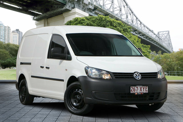 Used Volkswagen Caddy 2KN MY14 TDI320 Maxi DSG, 2014 Volkswagen Caddy 2KN MY14 TDI320 Maxi DSG White 6 Speed Sports Automatic Dual Clutch Van
