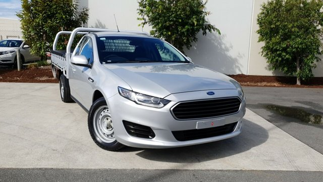 Used Ford Falcon FG X Super Cab, 2016 Ford Falcon FG X Super Cab Silver 6 Speed Sports Automatic Cab Chassis
