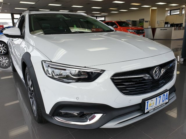 Demo Holden Calais ZB MY18 V Tourer AWD, 2018 Holden Calais ZB MY18 V Tourer AWD Summit White 9 Speed Sports Automatic Wagon