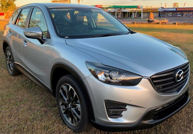 Used Mazda CX-5 KE1022 Grand Touring SKYACTIV-Drive AWD, 2015 Mazda CX-5 KE1022 Grand Touring SKYACTIV-Drive AWD Silver 6 Speed Sports Automatic Wagon
