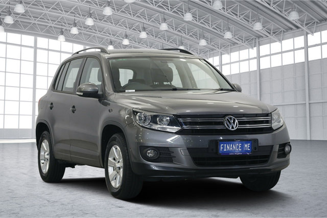 Used Volkswagen Tiguan 5N MY12 132TSI DSG 4MOTION, 2011 Volkswagen Tiguan 5N MY12 132TSI DSG 4MOTION Pepper Grey 7 Speed Sports Automatic Dual Clutch