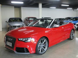 2013 Audi RS5 8T MY14 S Tronic Quattro Red 7 Speed Sports Automatic Dual Clutch Cabriolet.