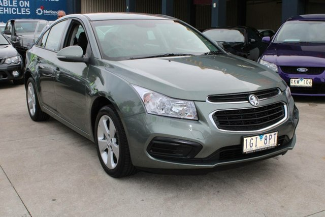 Used Holden Cruze JH Series II MY15 Equipe West Footscray, 2015 Holden Cruze JH Series II MY15 Equipe Grey 5 Speed Manual Sedan