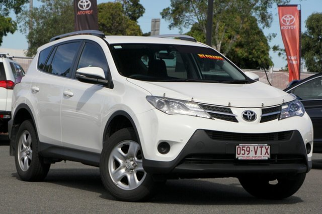 Used Toyota RAV4 ZSA42R GX 2WD, 2015 Toyota RAV4 ZSA42R GX 2WD Glacier White 7 Speed Constant Variable Wagon