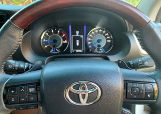 2015 Toyota Fortuner GUN156R Crusade White 6 Speed Automatic Wagon