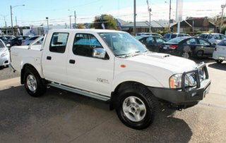 2014 Nissan Navara D22 White Manual Dual Cab