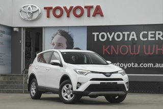 2017 Toyota RAV4 ASA44R GX AWD White 6 Speed Sports Automatic Wagon.