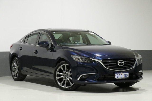 Used Mazda 6 6C MY17 (gl) GT, 2017 Mazda 6 6C MY17 (gl) GT Eternal Blue 6 Speed Automatic Sedan