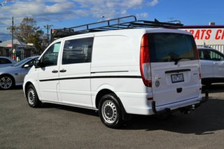 2012 Mercedes-Benz Vito MY11 113CDI SWB White 5 Speed Automatic Van.