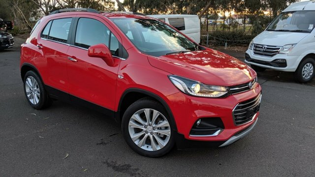 New Holden Trax TJ MY19 LT, 2019 Holden Trax TJ MY19 LT Absolute Red 6 Speed Automatic Wagon