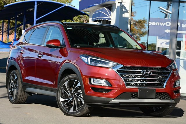 New Hyundai Tucson TL3 MY19 Highlander D-CT AWD, 2019 Hyundai Tucson TL3 MY19 Highlander D-CT AWD Gemstone Red 7 Speed Sports Automatic Dual Clutch