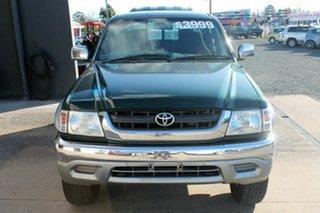 2001 Toyota Hilux RZN169R HILUX SR5 Green Manual Dual Cab.