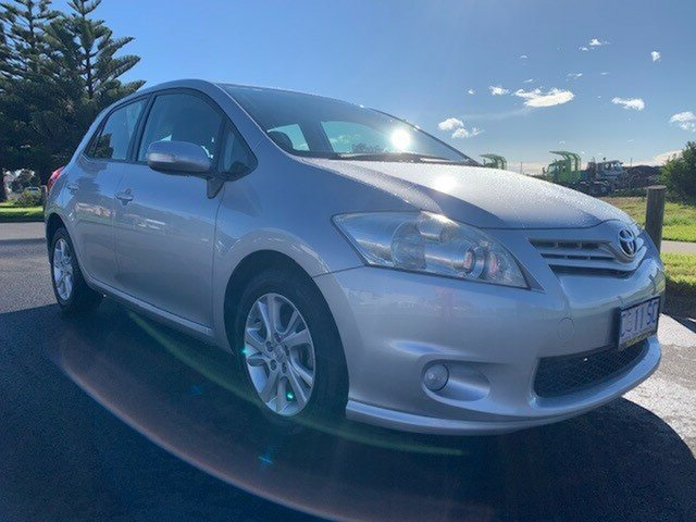 Used Toyota Corolla ZRE152R MY11 Ascent Sport, 2012 Toyota Corolla ZRE152R MY11 Ascent Sport Silver 4 Speed Automatic Hatchback