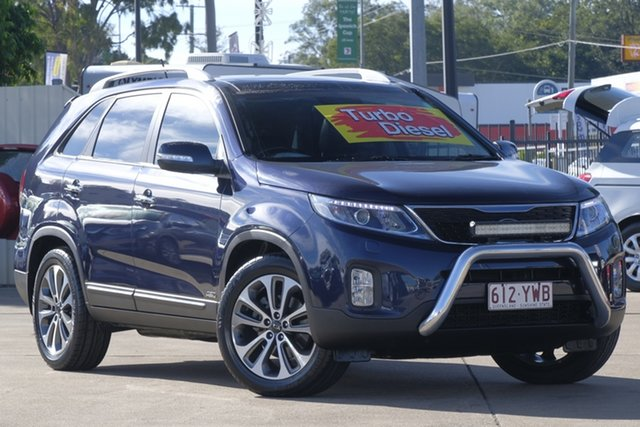 Used Kia Sorento XM MY14 Platinum 4WD, 2013 Kia Sorento XM MY14 Platinum 4WD Blue 6 Speed Sports Automatic Wagon