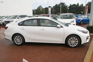2019 Kia Cerato BD MY19 S Snow White Pearl 6 Speed Sports Automatic Sedan