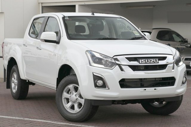 New Isuzu D-MAX MY19 LS-M Crew Cab, 2019 Isuzu D-MAX MY19 LS-M Crew Cab Splash White 6 Speed Sports Automatic Utility