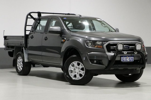 Used Ford Ranger PX MkII MY17 XL 3.2 Plus (4x4), 2017 Ford Ranger PX MkII MY17 XL 3.2 Plus (4x4) Grey 6 Speed Automatic Crew Cab Utility