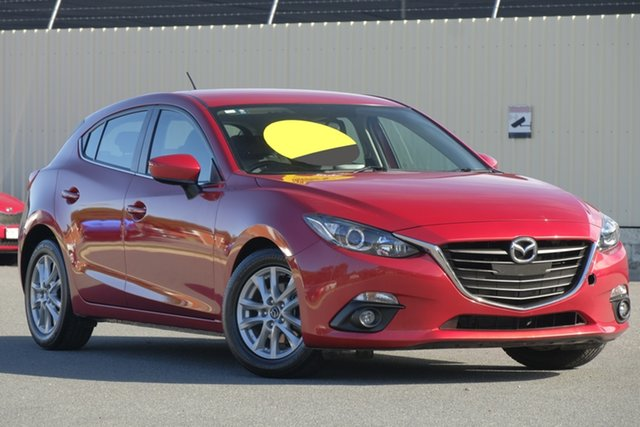 Used Mazda 3 BM5478 Maxx SKYACTIV-Drive, 2016 Mazda 3 BM5478 Maxx SKYACTIV-Drive Red 6 Speed Sports Automatic Hatchback