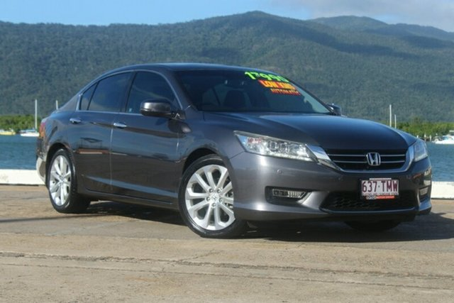 Used Honda Accord 9th Gen MY13 VTi-L, 2013 Honda Accord 9th Gen MY13 VTi-L Grey 5 Speed Sports Automatic Sedan