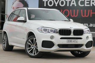 2018 BMW X5 F15 xDrive30d White 8 Speed Sports Automatic Wagon.