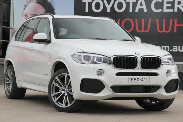 Used BMW X5 F15 xDrive30d, 2018 BMW X5 F15 xDrive30d White 8 Speed Sports Automatic Wagon