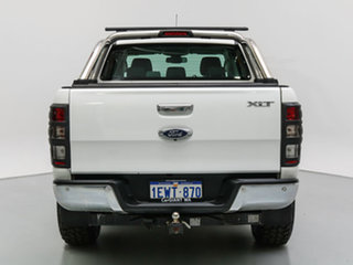 2015 Ford Ranger PX MkII XLT 3.2 (4x4) White 6 Speed Manual Dual Cab Utility