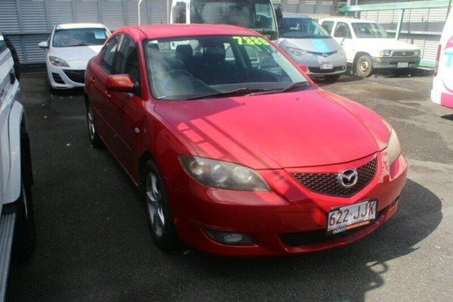 Used Mazda 3 BK10F1 Maxx Sport, 2006 Mazda 3 BK10F1 Maxx Sport Red 4 Speed Sports Automatic Sedan