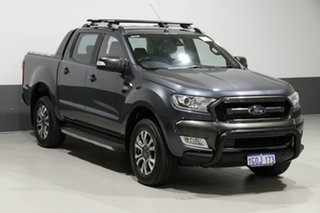 2016 Ford Ranger PX MkII Wildtrak 3.2 (4x4) Grey 6 Speed Automatic Dual Cab Pick-up