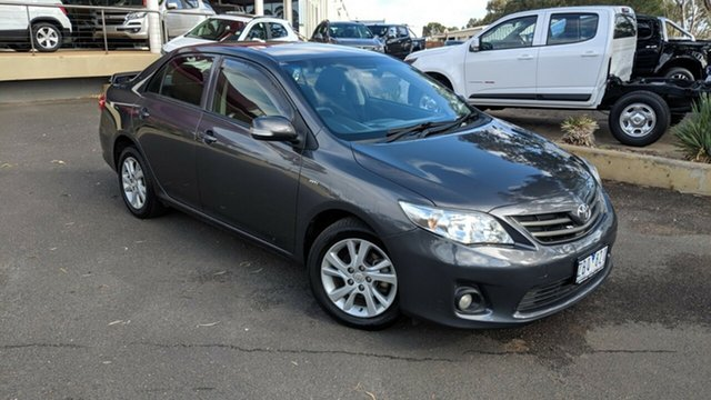Used Toyota Corolla ZRE152R MY11 Ascent Sport, 2012 Toyota Corolla ZRE152R MY11 Ascent Sport Grey 4 Speed Automatic Sedan