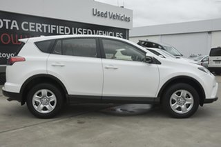 2017 Toyota RAV4 ASA44R GX AWD White 6 Speed Sports Automatic Wagon