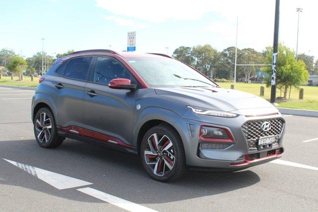 Demo Hyundai Kona OS.2 MY19 Iron Man Edition D-CT AWD, 2019 Hyundai Kona OS.2 MY19 Iron Man Edition D-CT AWD Iron Man two-tone 7 Speed