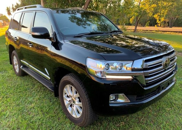 Used Toyota Landcruiser VDJ200R Sahara, 2016 Toyota Landcruiser VDJ200R Sahara Black 6 Speed Sports Automatic Wagon