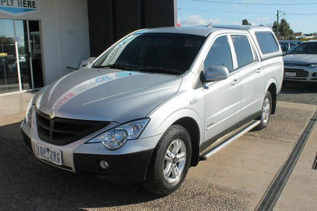 Used Ssangyong Actyon C100 A200 SPR XDI, 2010 Ssangyong Actyon C100 A200 SPR XDI Silver 4 Speed Automatic Wagon