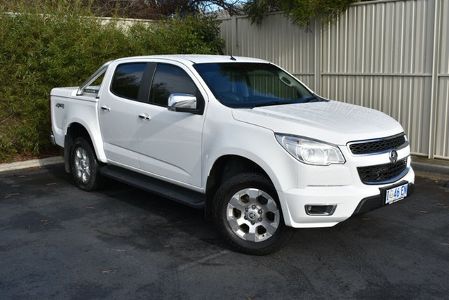 Used Holden Colorado RG MY17 LTZ Pickup Crew Cab, 2016 Holden Colorado RG MY17 LTZ Pickup Crew Cab White 6 Speed Sports Automatic Utility
