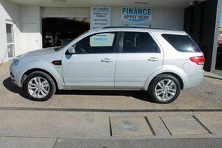 2014 Ford Territory TS SZ Silver 6 Speed Automatic Wagon.