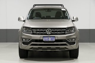 2017 Volkswagen Amarok 2H MY18 V6 TDI 550 Ultimate Champagne 8 Speed Automatic Dual Cab Utility.