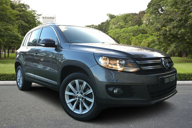 Used Volkswagen Tiguan 5N MY13 132TSI Tiptronic 4MOTION Pacific, 2012 Volkswagen Tiguan 5N MY13 132TSI Tiptronic 4MOTION Pacific Grey 6 Speed Sports Automatic Wagon