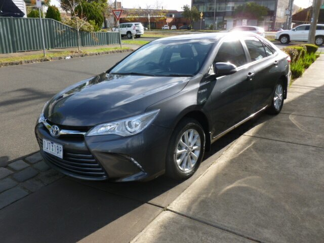 Used Toyota Camry AVV50R Altise, 2017 Toyota Camry AVV50R Altise Grey 1 Speed Constant Variable Sedan Hybrid