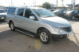 2010 Ssangyong Actyon C100 A200 SPR XDI Silver 4 Speed Automatic Wagon