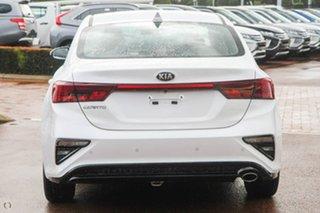 2019 Kia Cerato BD MY19 S Snow White Pearl 6 Speed Sports Automatic Sedan.
