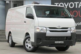 2017 Toyota HiAce TRH201R MY16 LWB White 6 Speed Automatic Van.