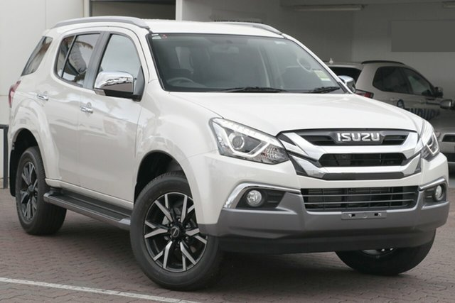 New Isuzu MU-X MY19 LS-T Rev-Tronic 4x2 Cardiff, 2020 Isuzu MU-X MY19 LS-T Rev-Tronic 4x2 Splash White 6 Speed Sports Automatic Wagon