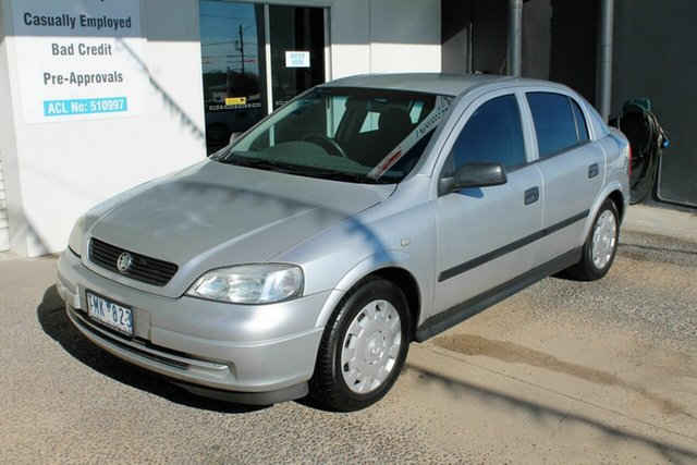 Used Holden Astra TS SXI, 2004 Holden Astra TS SXI Silver 5 Speed Manual Hatchback
