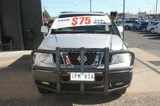 2009 Nissan Navara ST-X D40 Silver 6 Speed Manual Extracab.