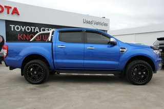 2018 Ford Ranger PX MkII MY18 XLT 3.2 (4x4) Blue 6 Speed Manual Dual Cab Utility