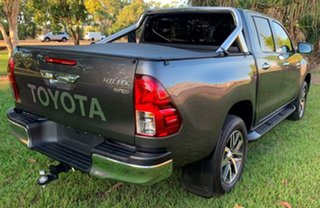 2015 Toyota Hilux GUN126R SR5 Double Cab Grey 6 Speed Sports Automatic Utility.